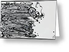 Blacksparkledance Greeting Card