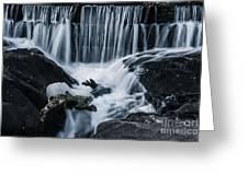 Blackstone Falls Greeting Card