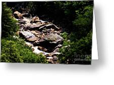 Blackwater Canyon #4 Greeting Card