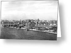 Blackwells Island In Nyc Greeting Card