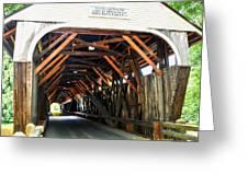 Blair Bridge, Campton Nh Greeting Card