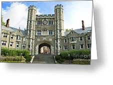 Blair Hall Princeton Greeting Card