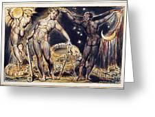 Blake: Jerusalem, 1804 Greeting Card