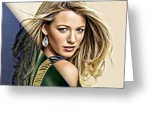 Blake Lively Collection Greeting Card