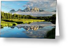 Blame It On The Tetons Greeting Card