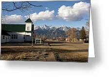 Blanca Colorado Greeting Card