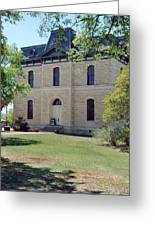 Blanco Courthouse Greeting Card