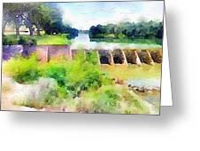 Blanco River Greeting Card