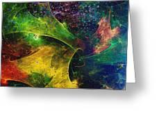 Blanket Of Stars Greeting Card