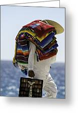 Blankets And Belts Greeting Card