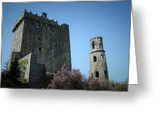 Blarney Castle And Tower County Cork Ireland Greeting Card