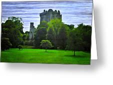 Blarney Castle Ireland Greeting Card