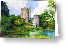 Blarney Castle Landscape Greeting Card