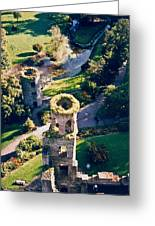 Blarney Castle Ruins In Ireland Greeting Card