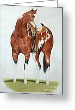 Blazing Saddles Greeting Card