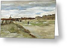 Bleaching Ground At Scheveningen Greeting Card
