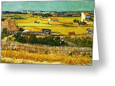 Blend 17 Van Gogh Greeting Card