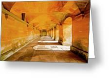 Blenheim Arches Greeting Card