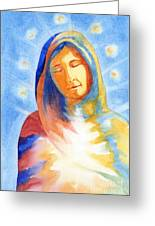 Blessed Mother Greeting Card