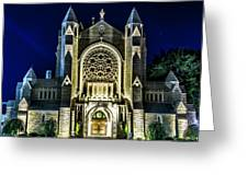 Blessed Sacrement Cathedral Greeting Card