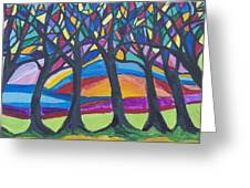Blessing Trees 3 Greeting Card