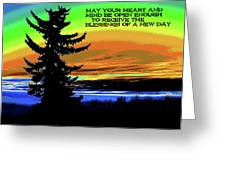 Blessings Of A New Day 2 Greeting Card