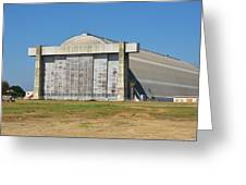 Blimp Hanger From Closed El Toro Marine Corps Air Station Greeting Card