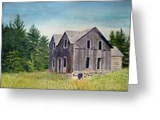 Blind River Homestead Greeting Card