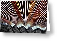 Blind Shadows Abstract I I I Greeting Card