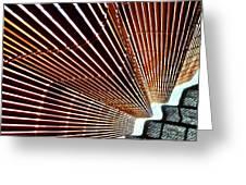 Blind Shadows Abstract I I Greeting Card
