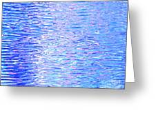 Blissful Blue Ocean Greeting Card