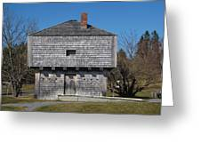 Block House Greeting Card