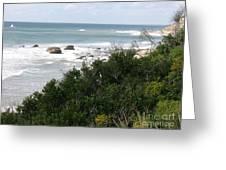 Block Island Sea Shore Greeting Card