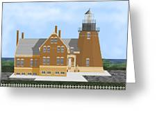 Block Island South East Rhode Island In Full Color Greeting Card
