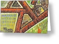 Acrylic Block Art Greeting Card