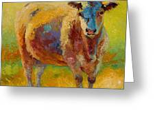 Blondie - Cow Greeting Card