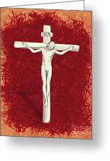 Blood Of Christ Greeting Card