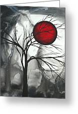 Blood Of The Moon 2 By Madart Greeting Card