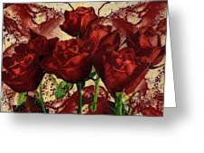 Blood Red Lust Greeting Card