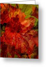 Blood Rose Greeting Card