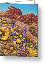 Blooming Desert Greeting Card