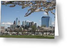 Blooming Philadelphia  Greeting Card