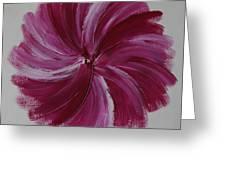 Blooming Root Chakra Greeting Card