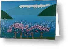 Blossom In The Hardanger Fjord Greeting Card