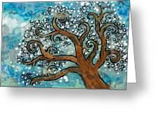 Blossom Tree - Miniature Art Greeting Card