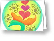 Blossoming From Within Greeting Card
