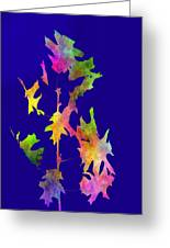 Blowin In The Wind 8 Greeting Card
