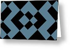 Blue 1 Greeting Card