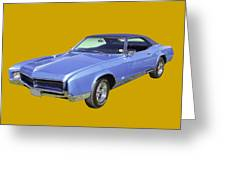 Blue 1967 Buick Riviera Greeting Card