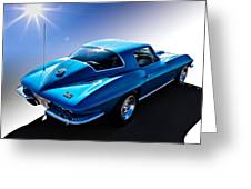 Blue '67  Greeting Card